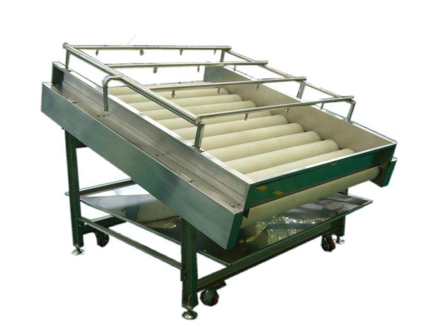青岛红薯毛刷清洗机和土豆芋头去皮机的工作流程