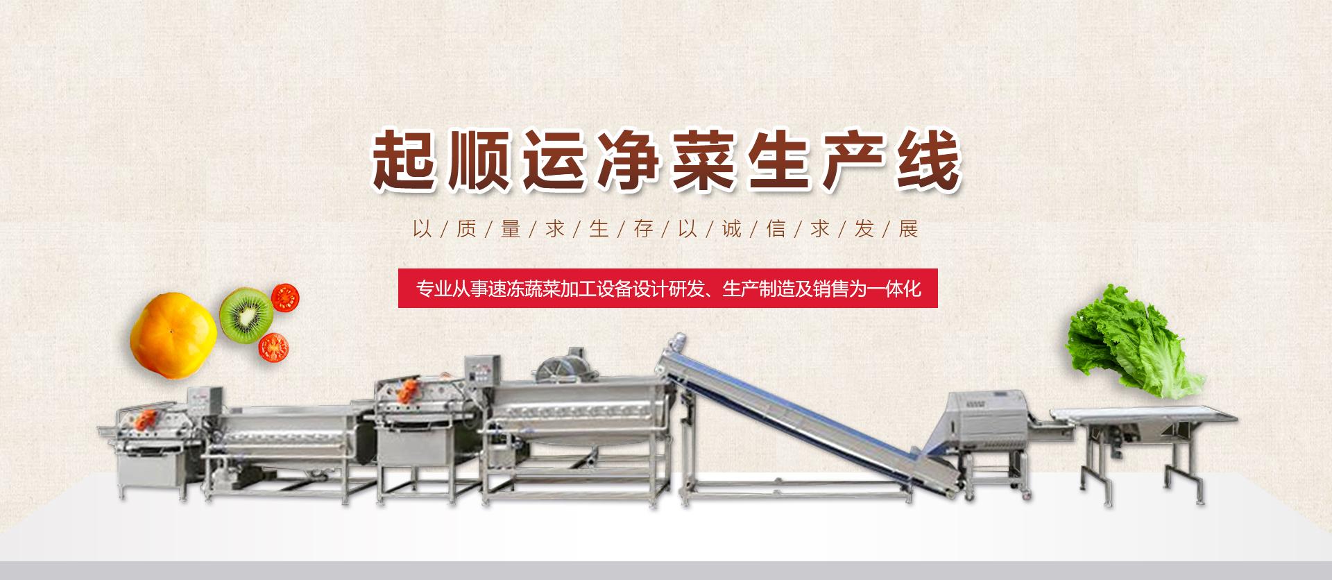 净菜机生产线
